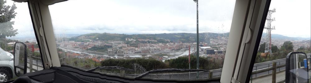 Bilbao - panora vanuit MH
