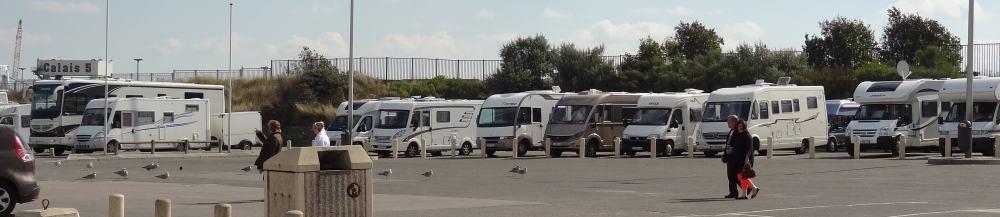 Calais MH parking