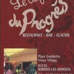 BusinessCard-LeCafeDuProges-Bormes-les-Mimosas