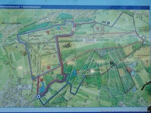 Duitsland - Gangelt - infobord wandelingen